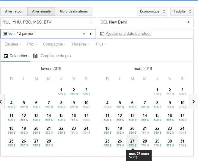 google flight marc