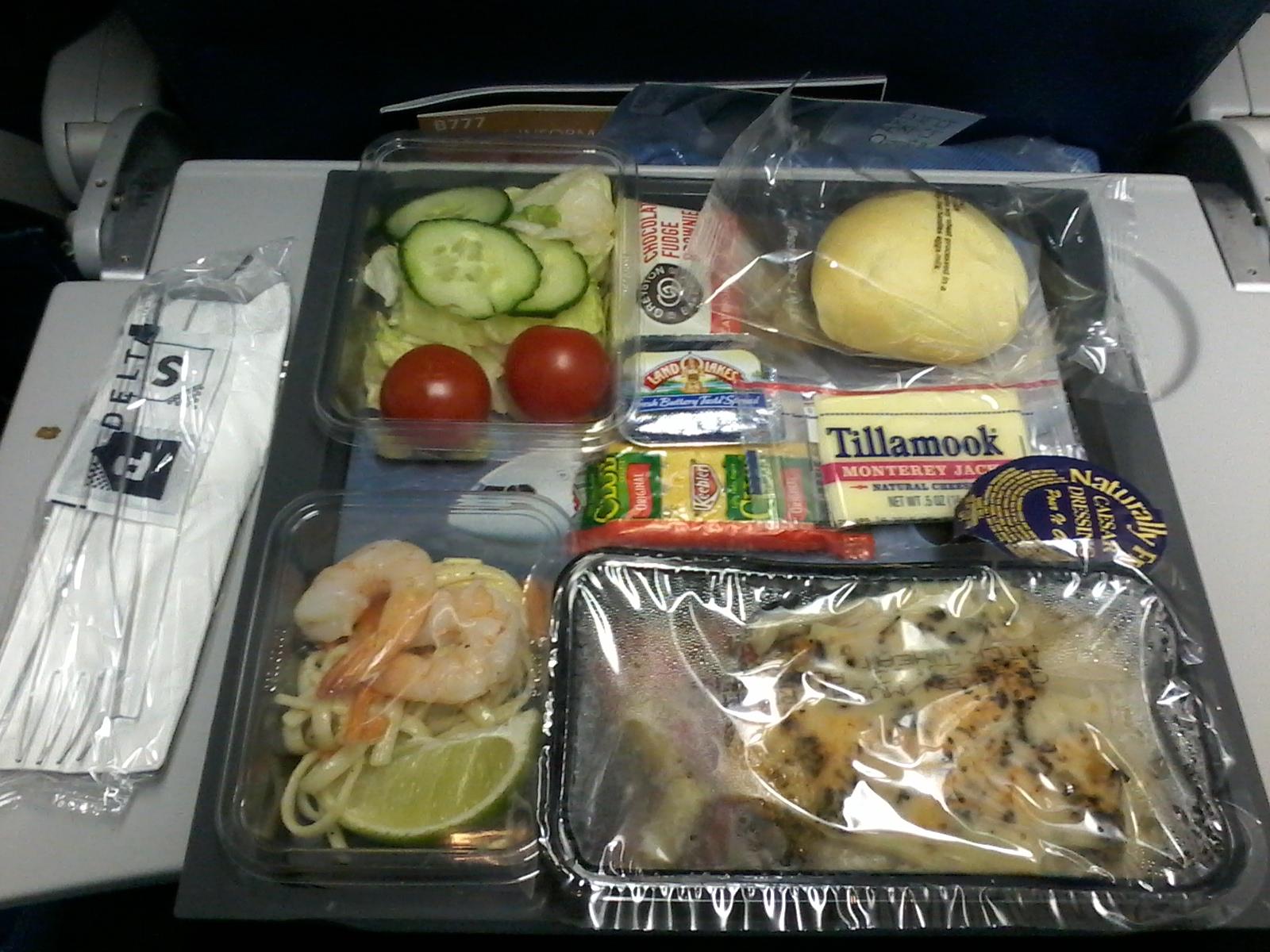 Nourriture avion