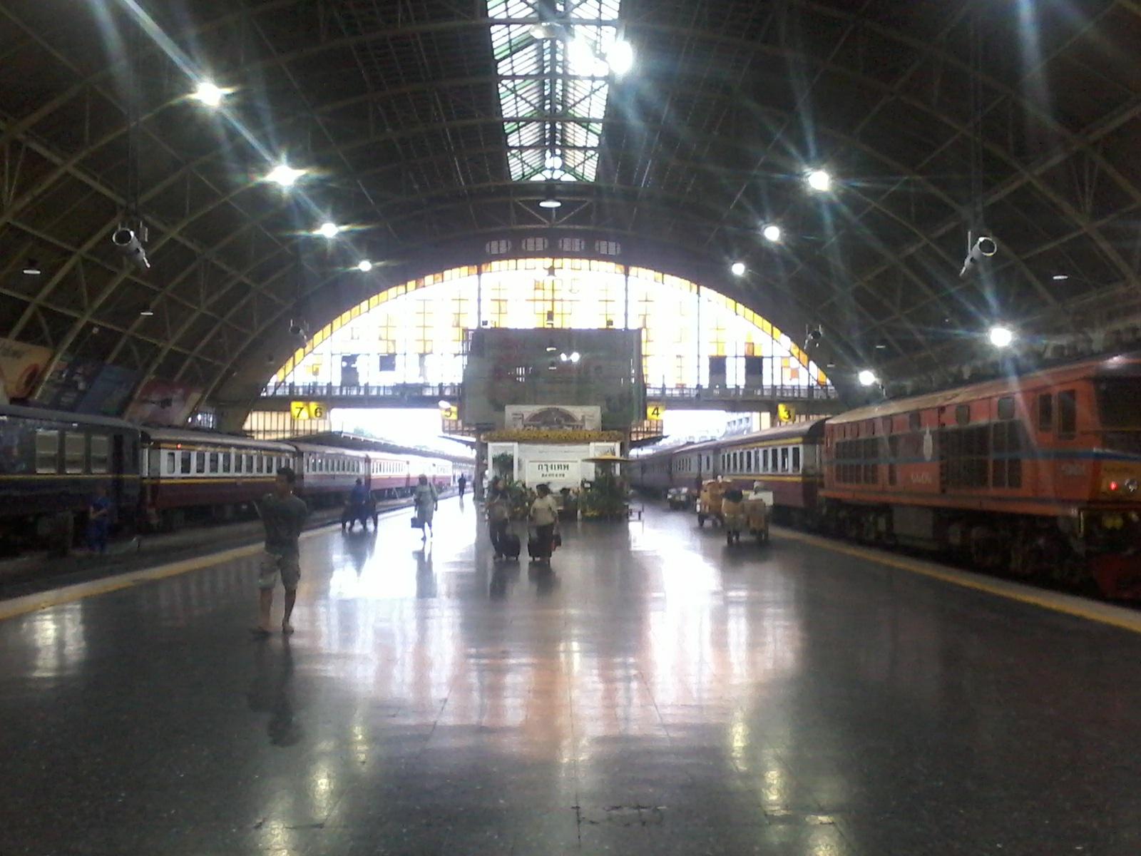gare de train thailande bangkok