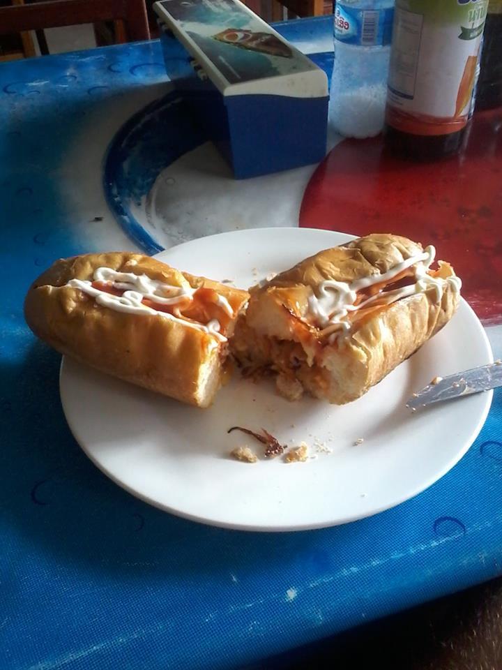 sandwich vang vieng
