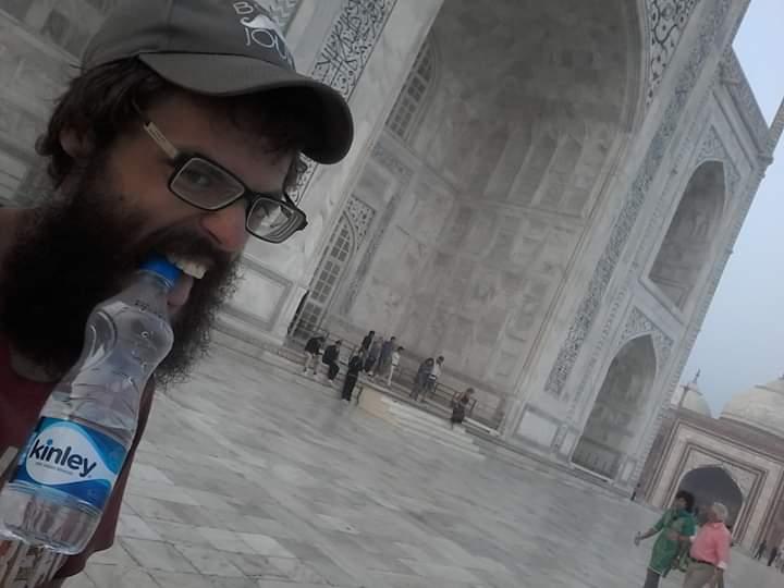 Taj mahal eau