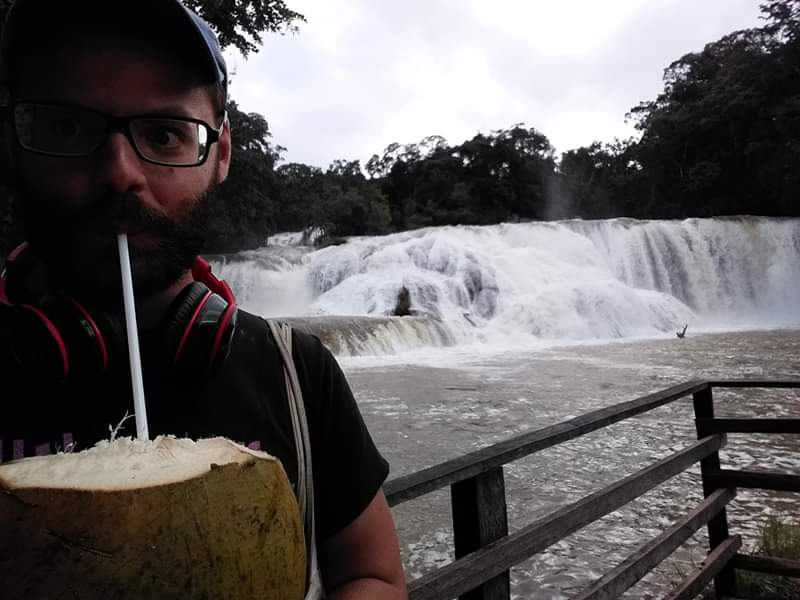 Agua azul coconut