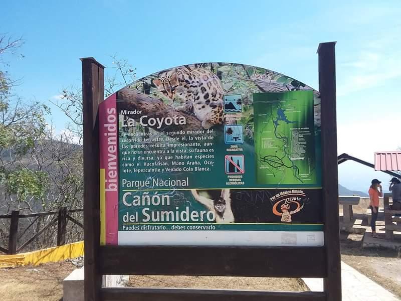 Mirador canyon de sumidero