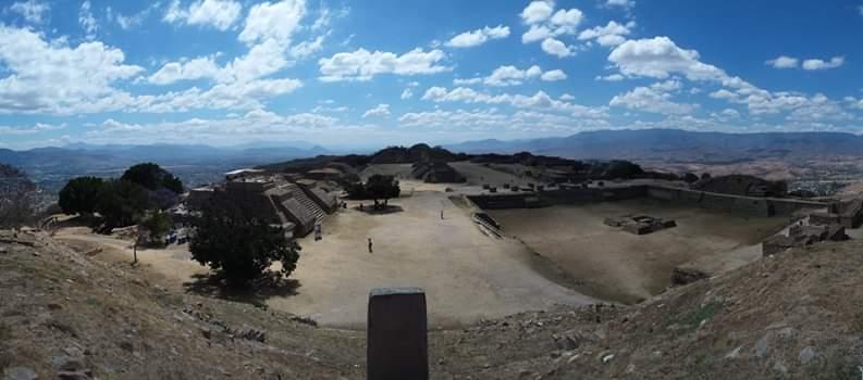 Point de vue monte alban