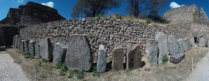 Pierres tombales monte alban