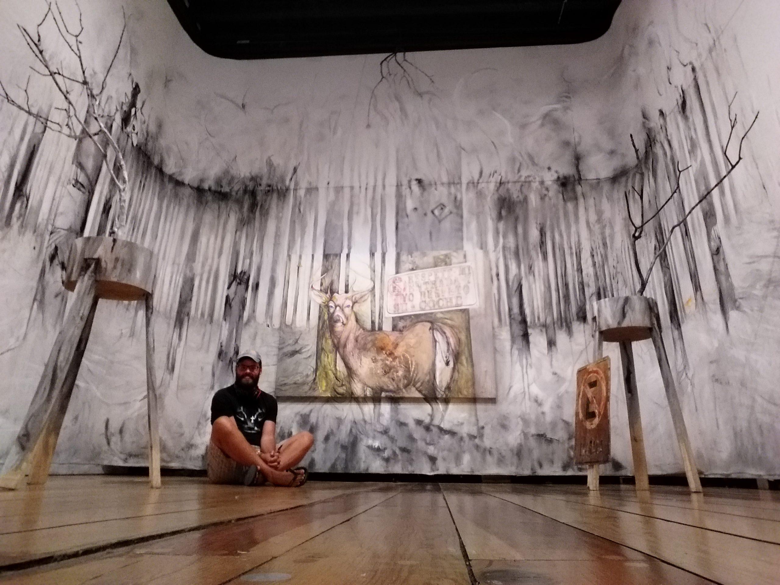 Oeuvre dans le musée de la ciudad de mexico