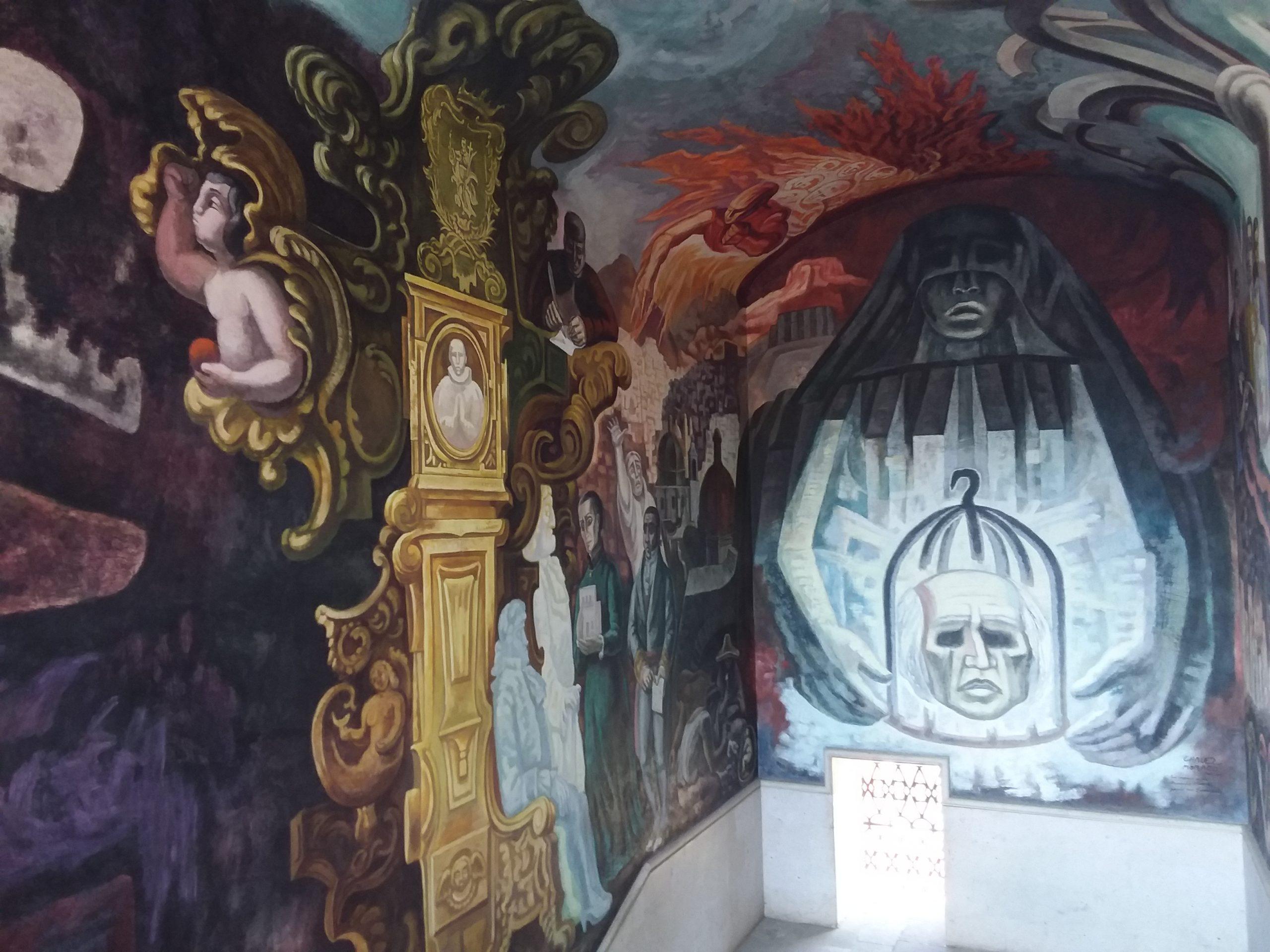 Peintures murales musée régionale guanajuato