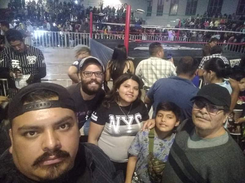 Lucha libre attente mexique