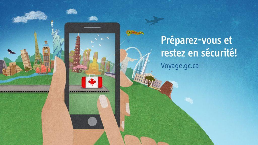 service canadien à l'étranger