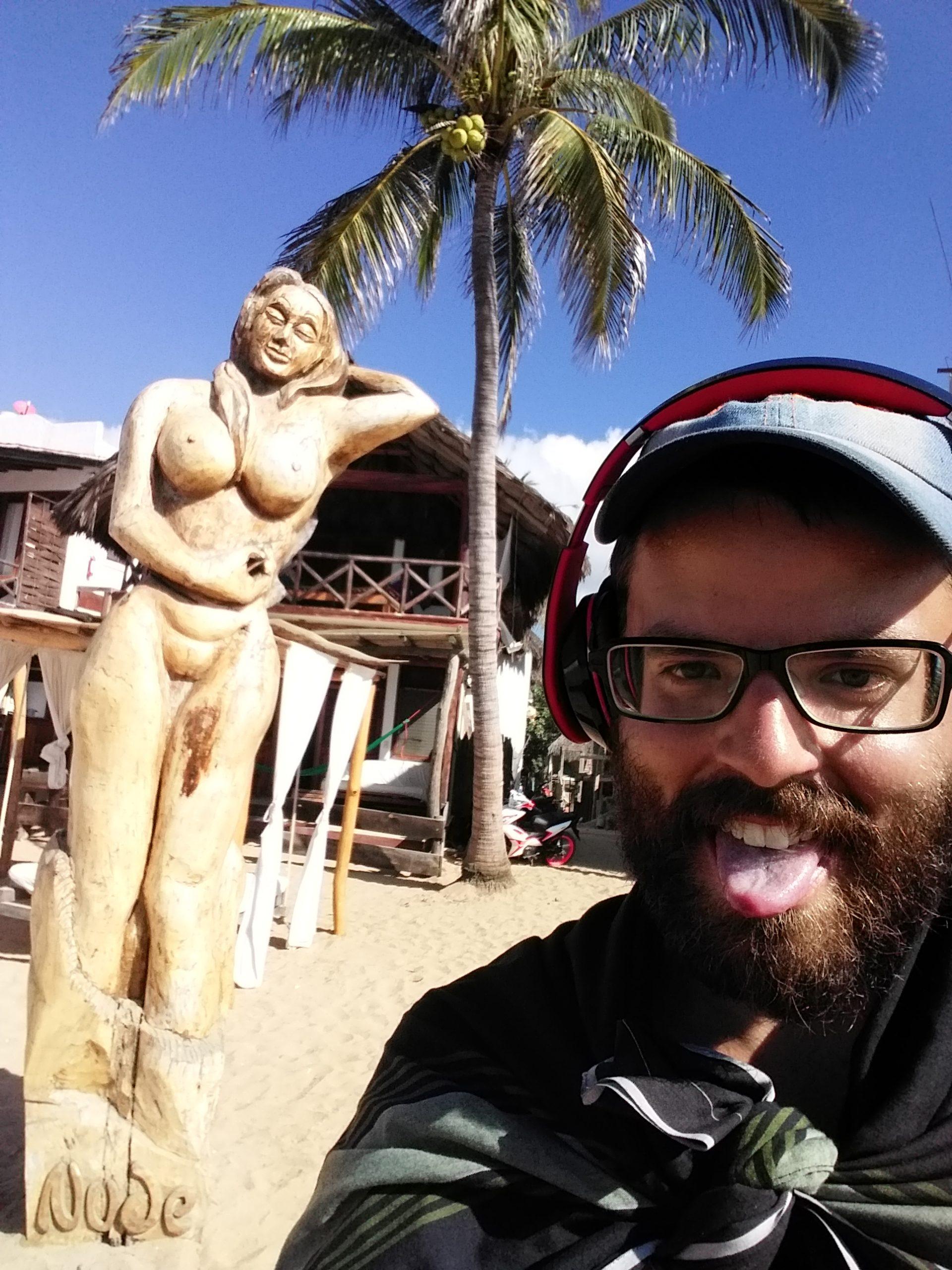 zipolite belle plage mexique