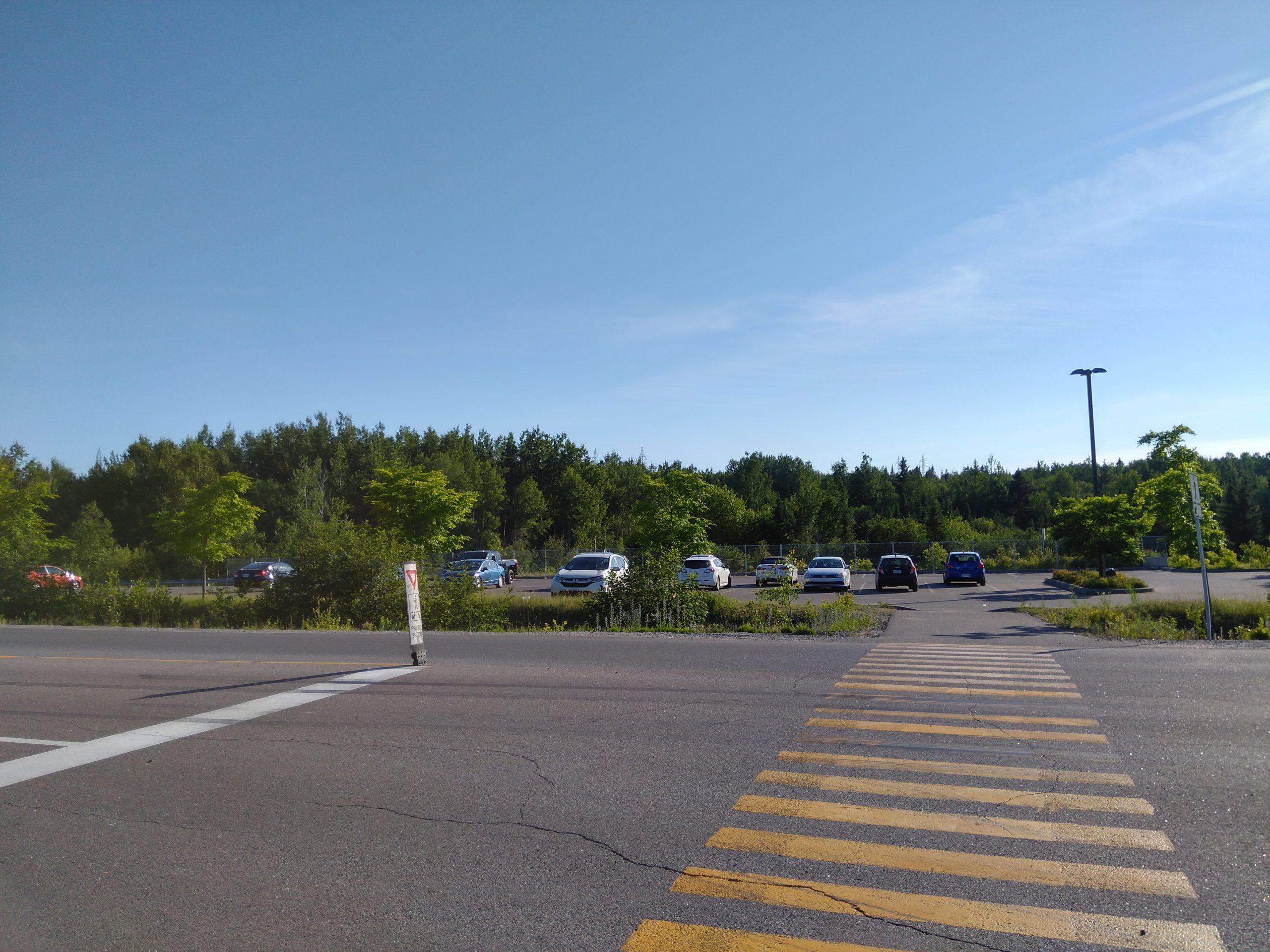Parking de la dam-en-terre