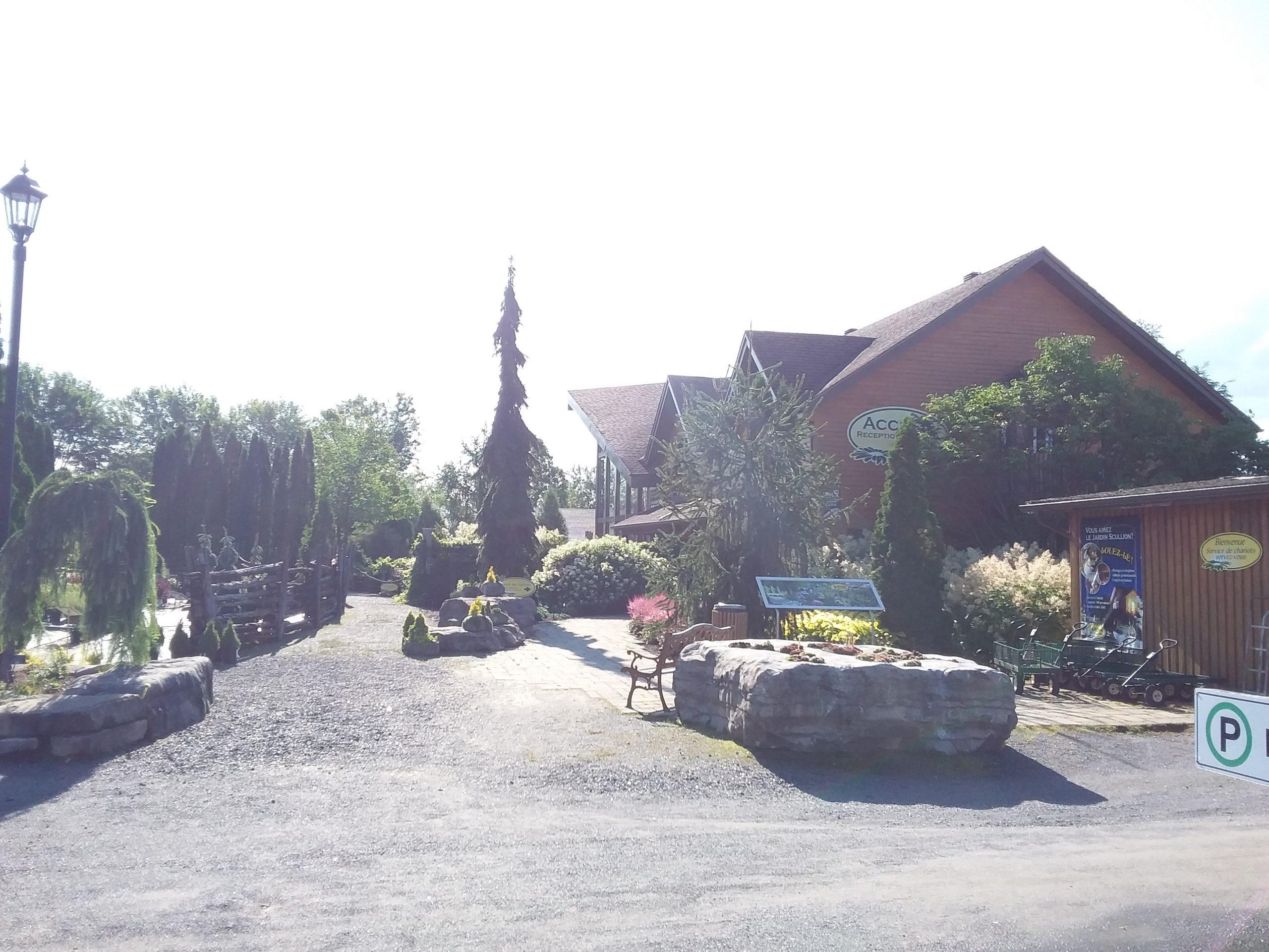 Jardin Scullion entrée
