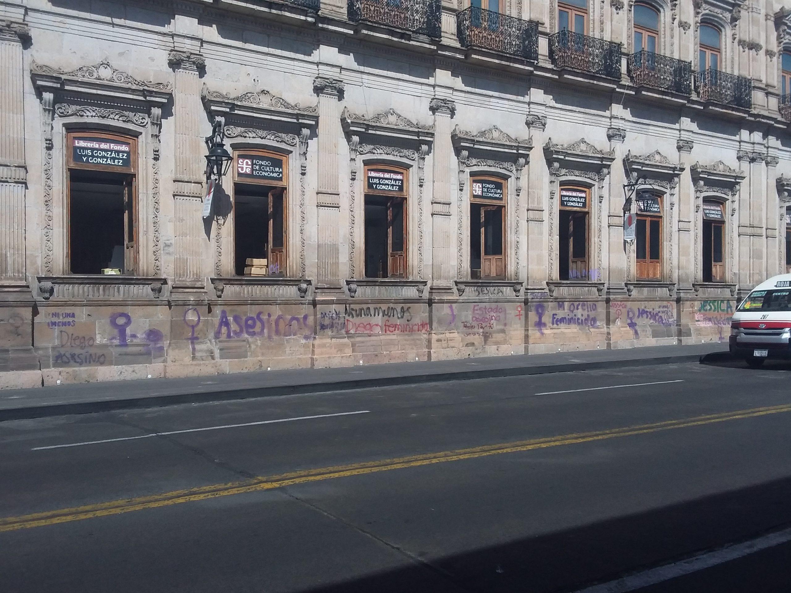 Graffitis morelia