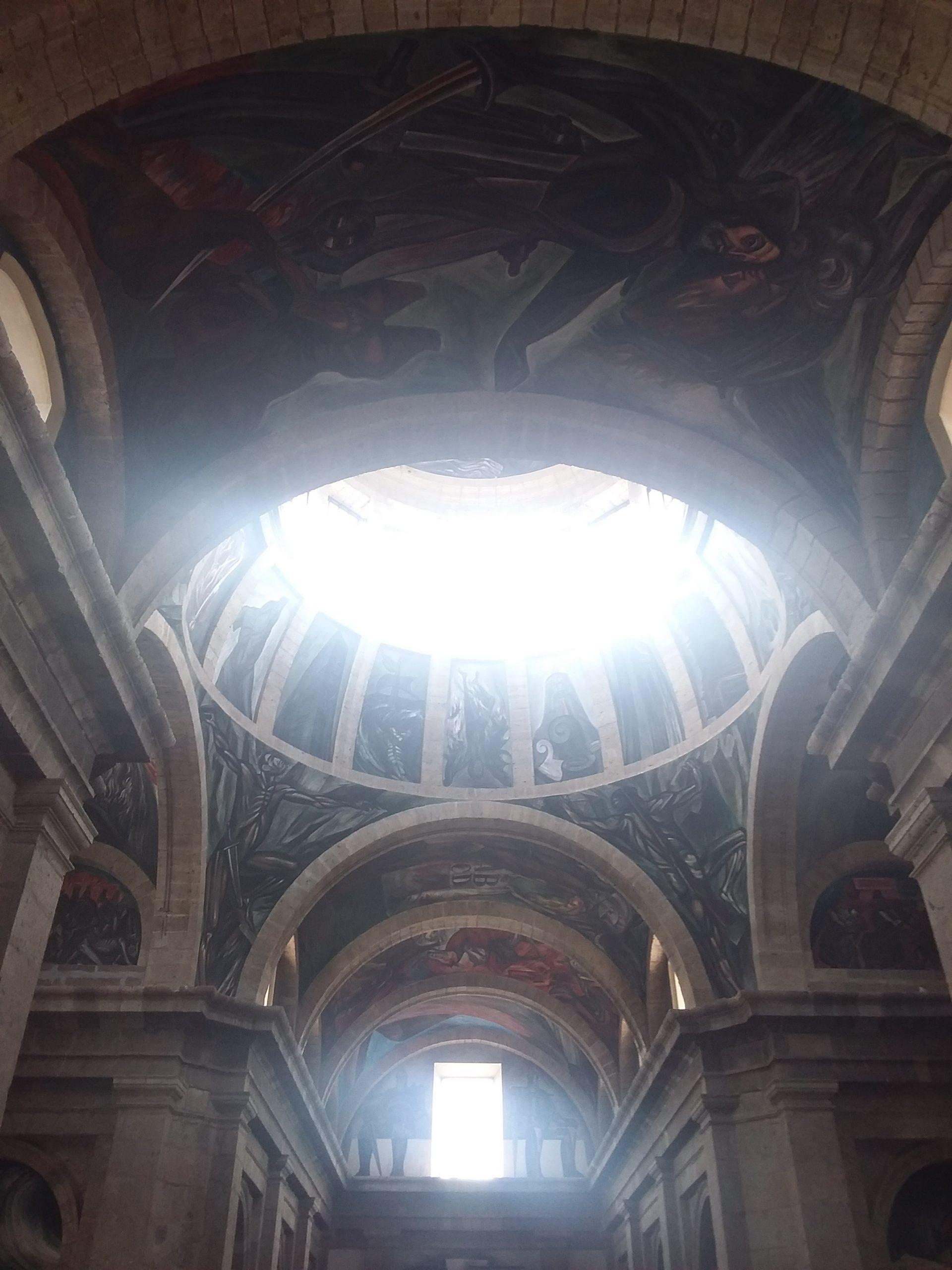 Peintures cathédrale cabañas guadalajara