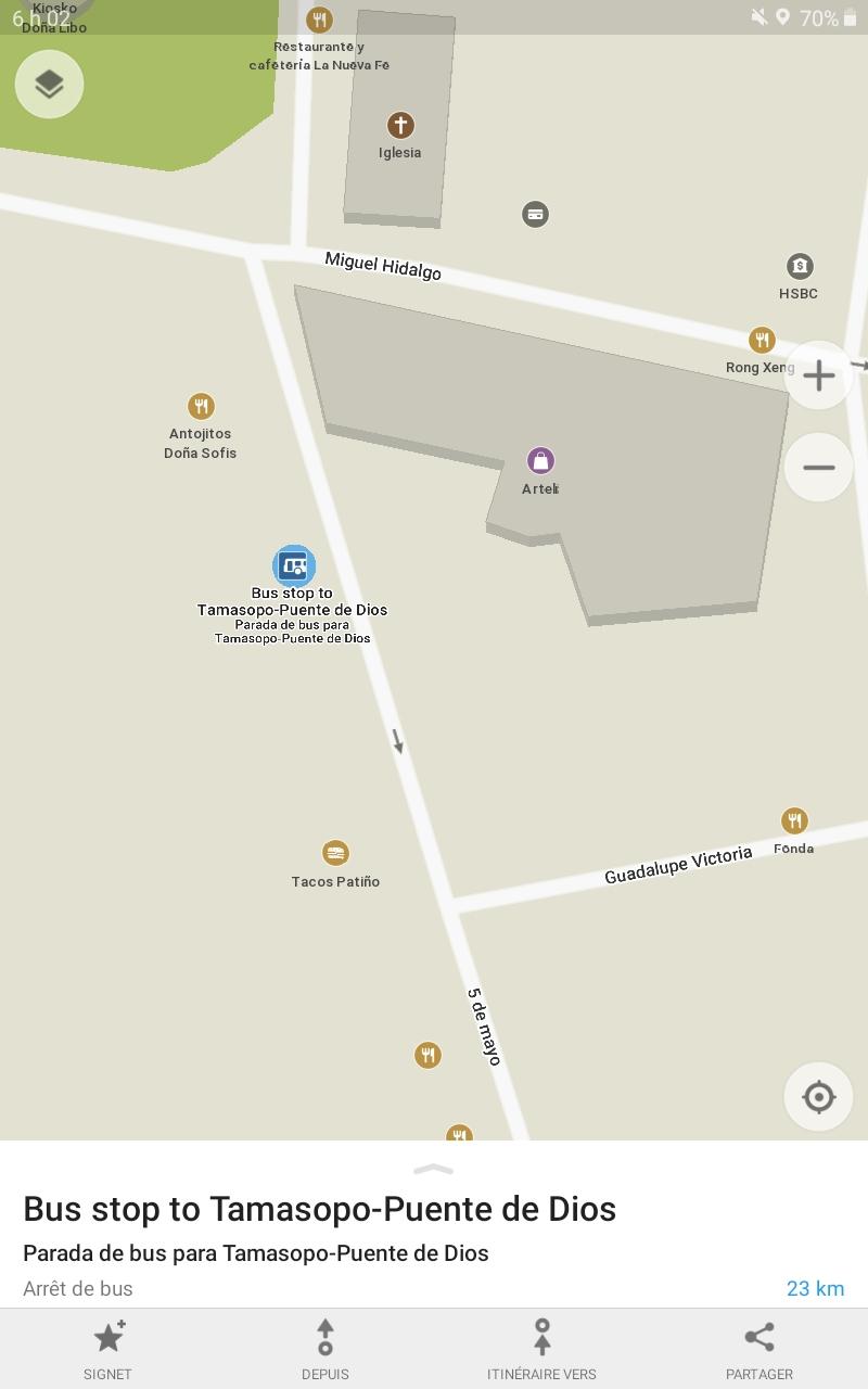 Location bus pour tamasopo