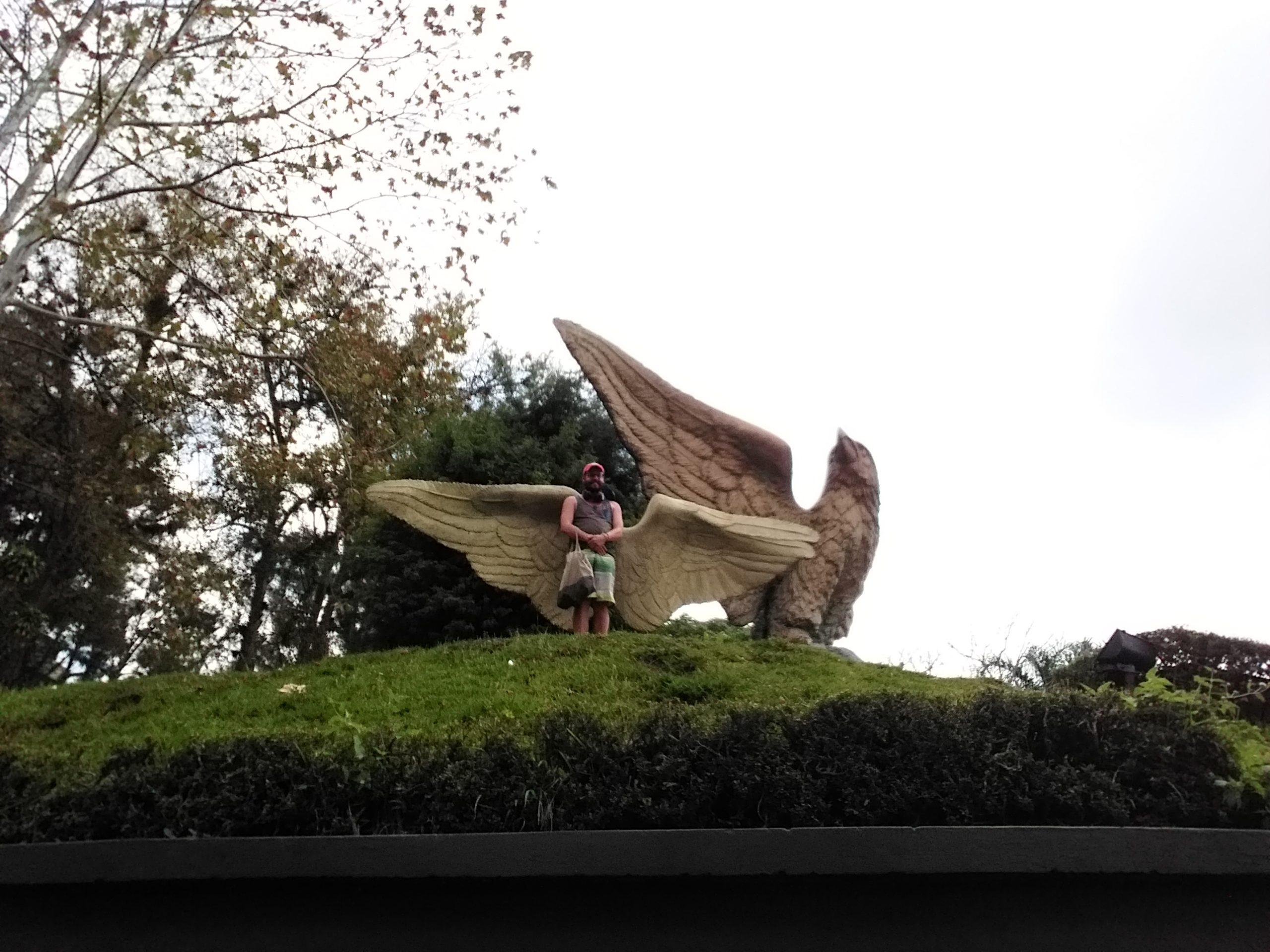 Statue aigle xalapa