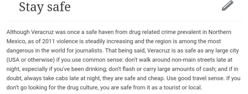 Veracruz sécurité