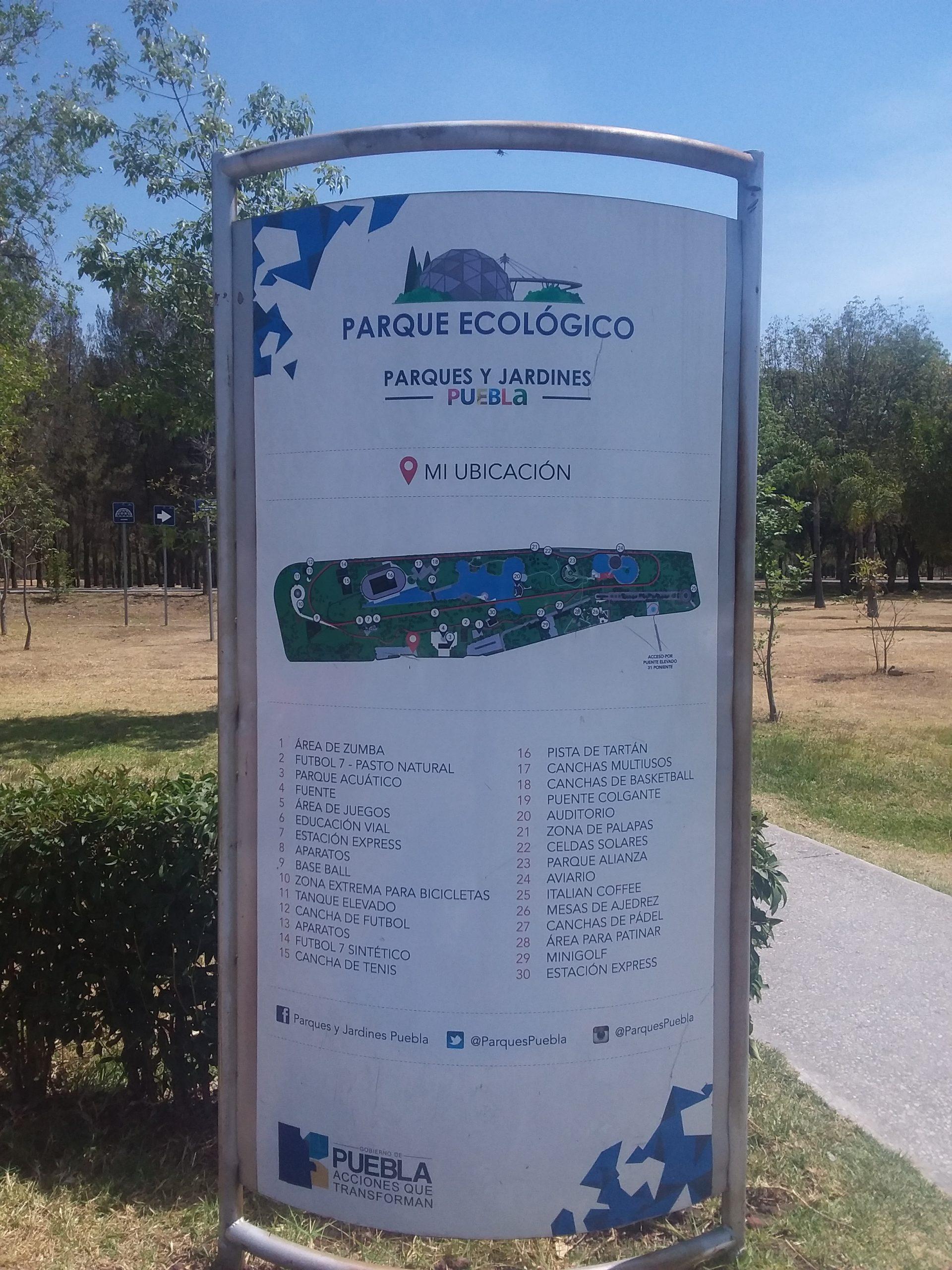 Parc écologique puebla