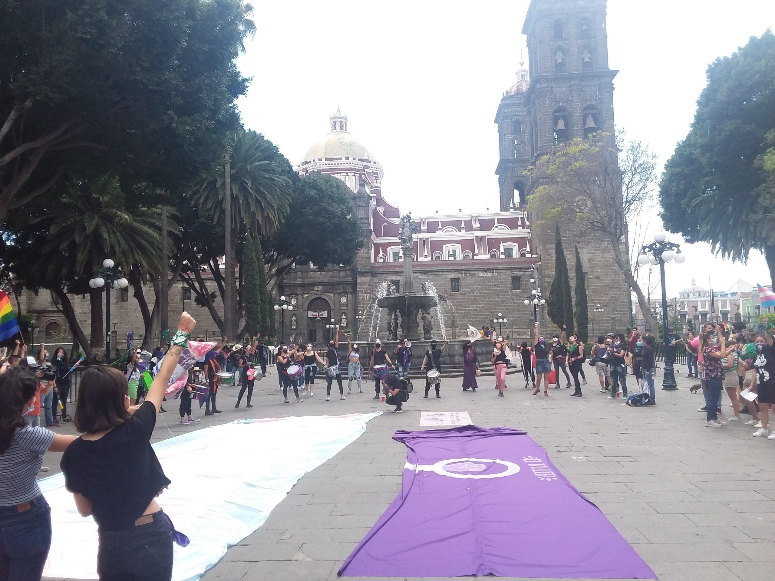 Féministes mexique puebla