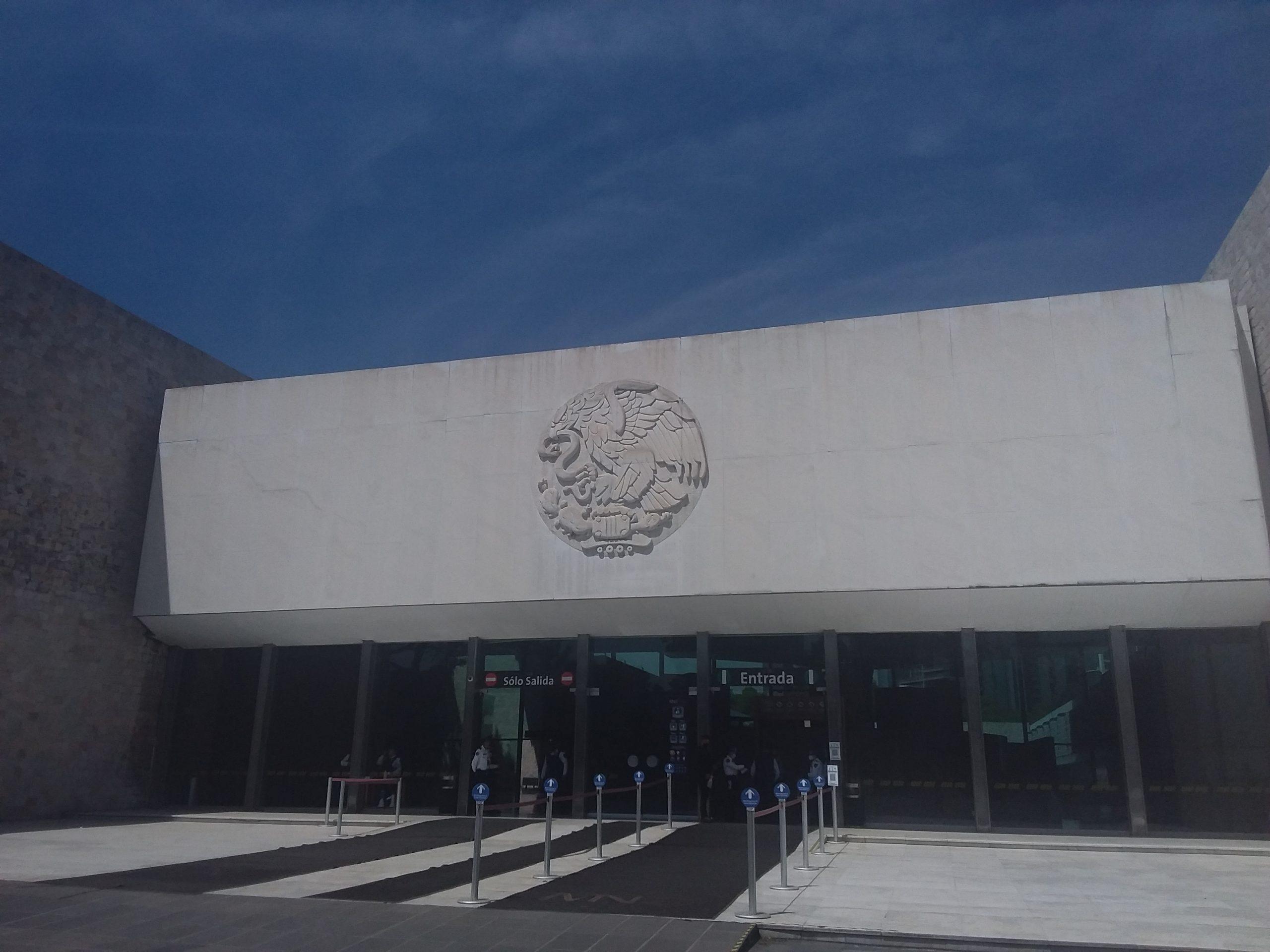 Entrée musée national anthropologie mexico city