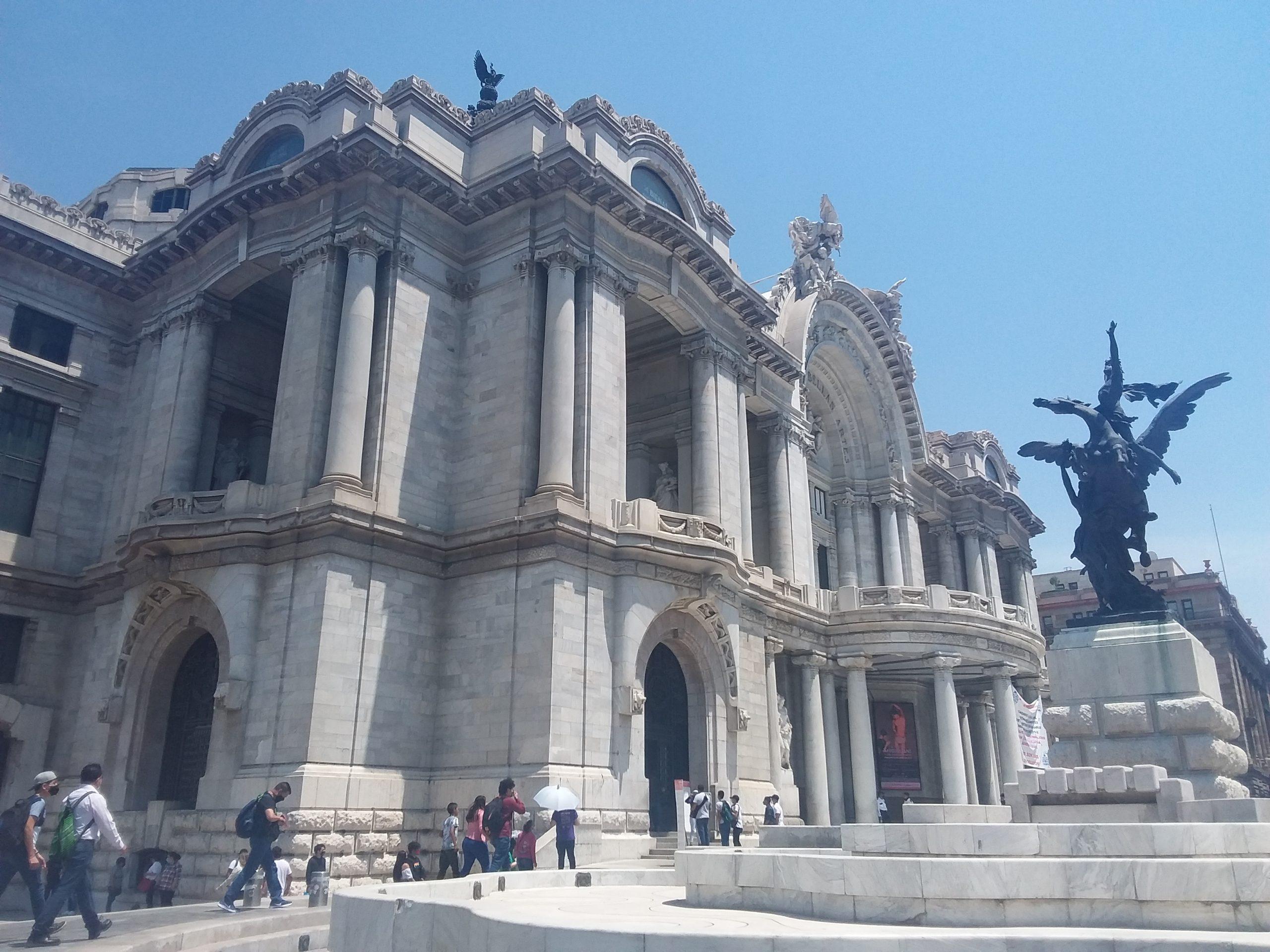 Palais des beaux-arts mexico city