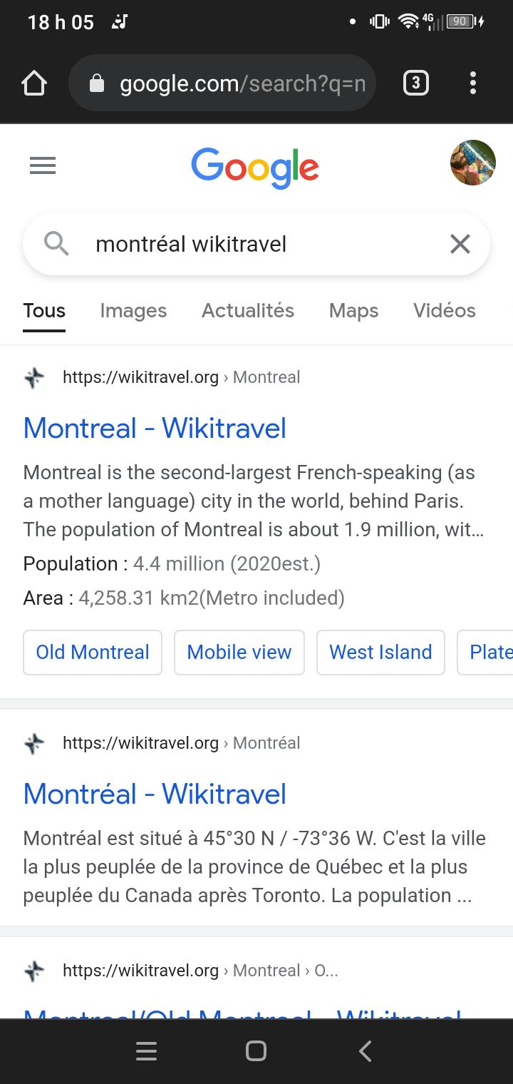Wikitravel pour trouver activités voyage